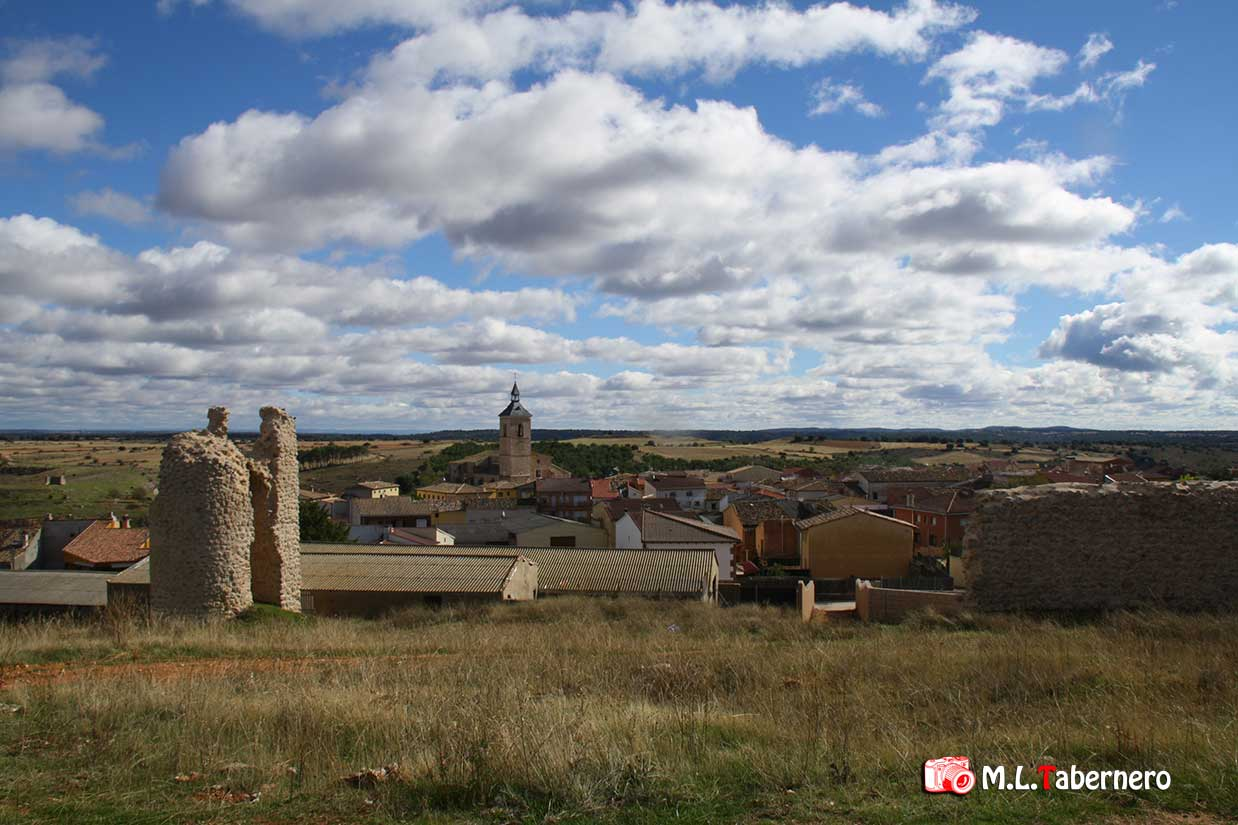 Panorámica, Iglesia y Mora Cantana