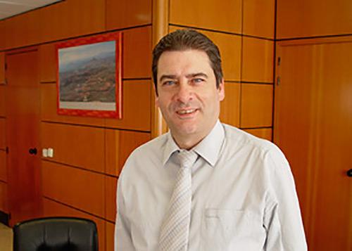 Alcalde - Presidente Santos Lopez Tabernero